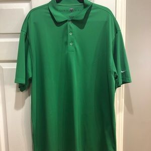 Nike Golf kelly green polo shirt size XXL